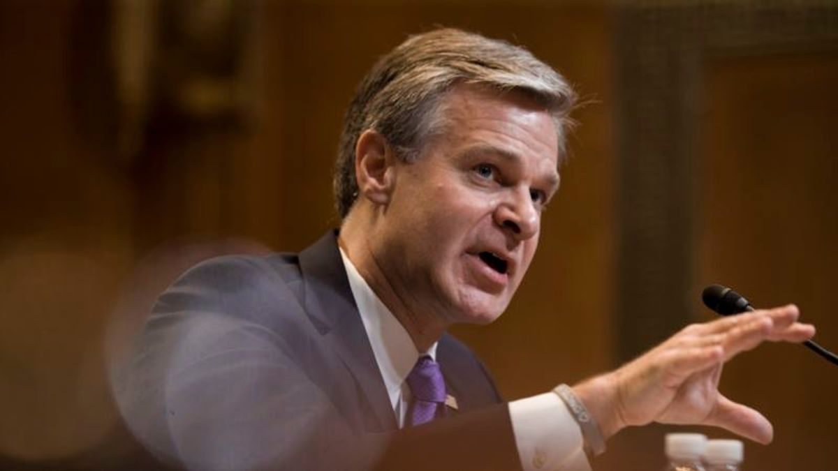 FBI Chief Breaks with Boss on Use of Term 'Spying'