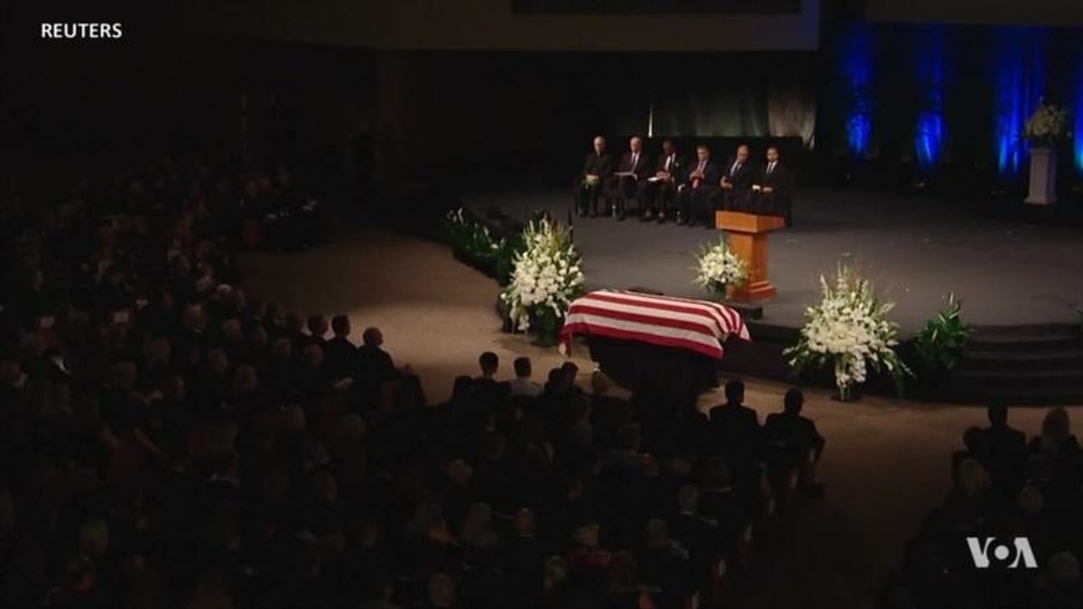 Trump Notably Absent From McCain Tributes