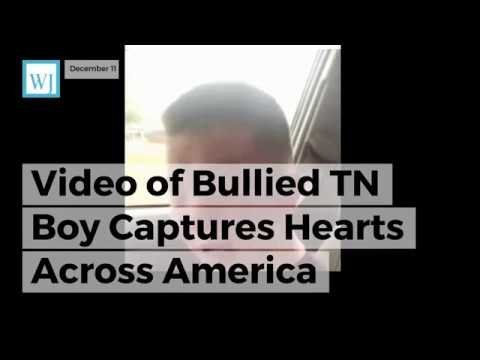 Video of Bullied TN Boy Captures Hearts Across America