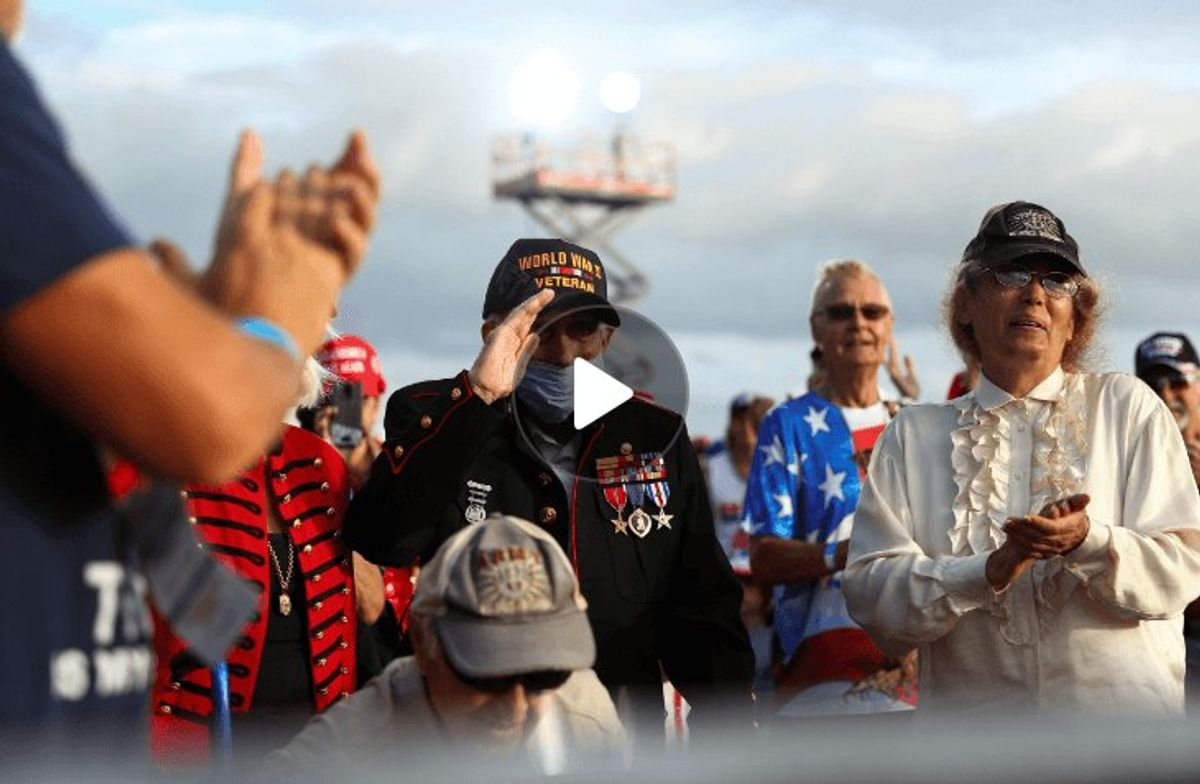 Most US Veterans Lean Toward Trump This Election, But Some Are Disillusioned