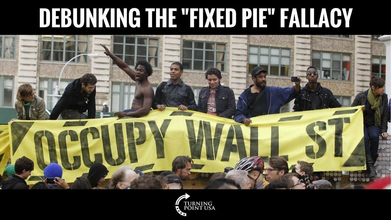 """Charlie Kirk Debunks The """"Fixed Pie"""" Fallacy"""