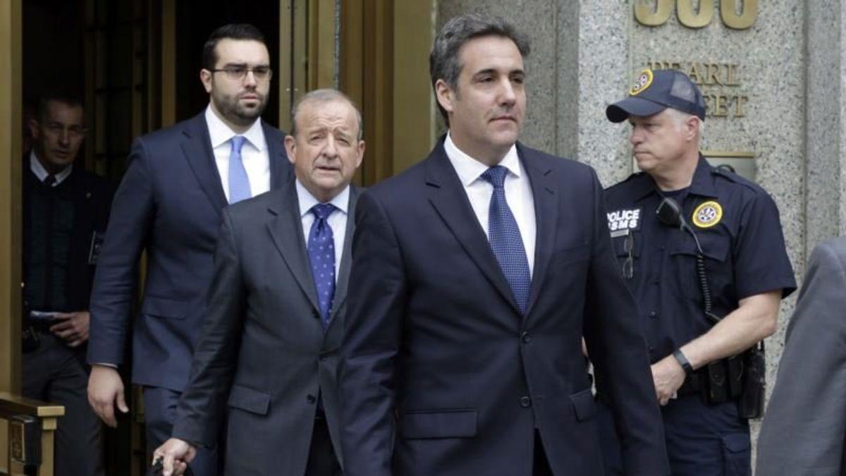 Reports: Ex-Trump Lawyer Cohen Reaches Plea Deal With US Prosecutors