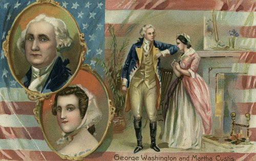 How George and Martha Washington Would Pause the Civil War-Independence Day Message for America