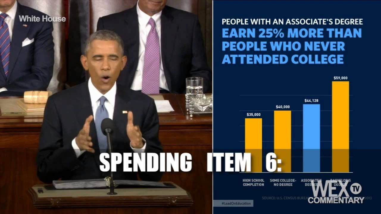 15 State of the Union quotes that require more government spending