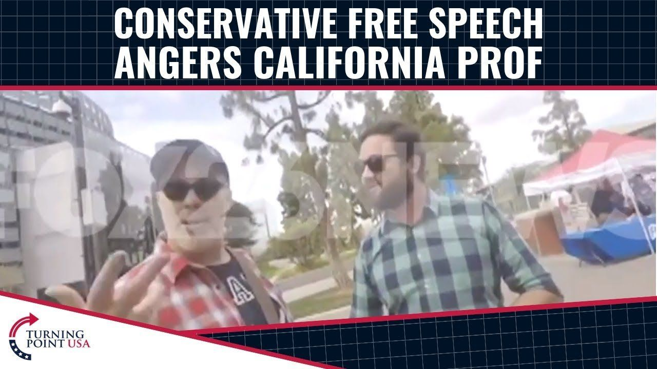 California Prof INSULTS Conservative Students For Their Beliefs!