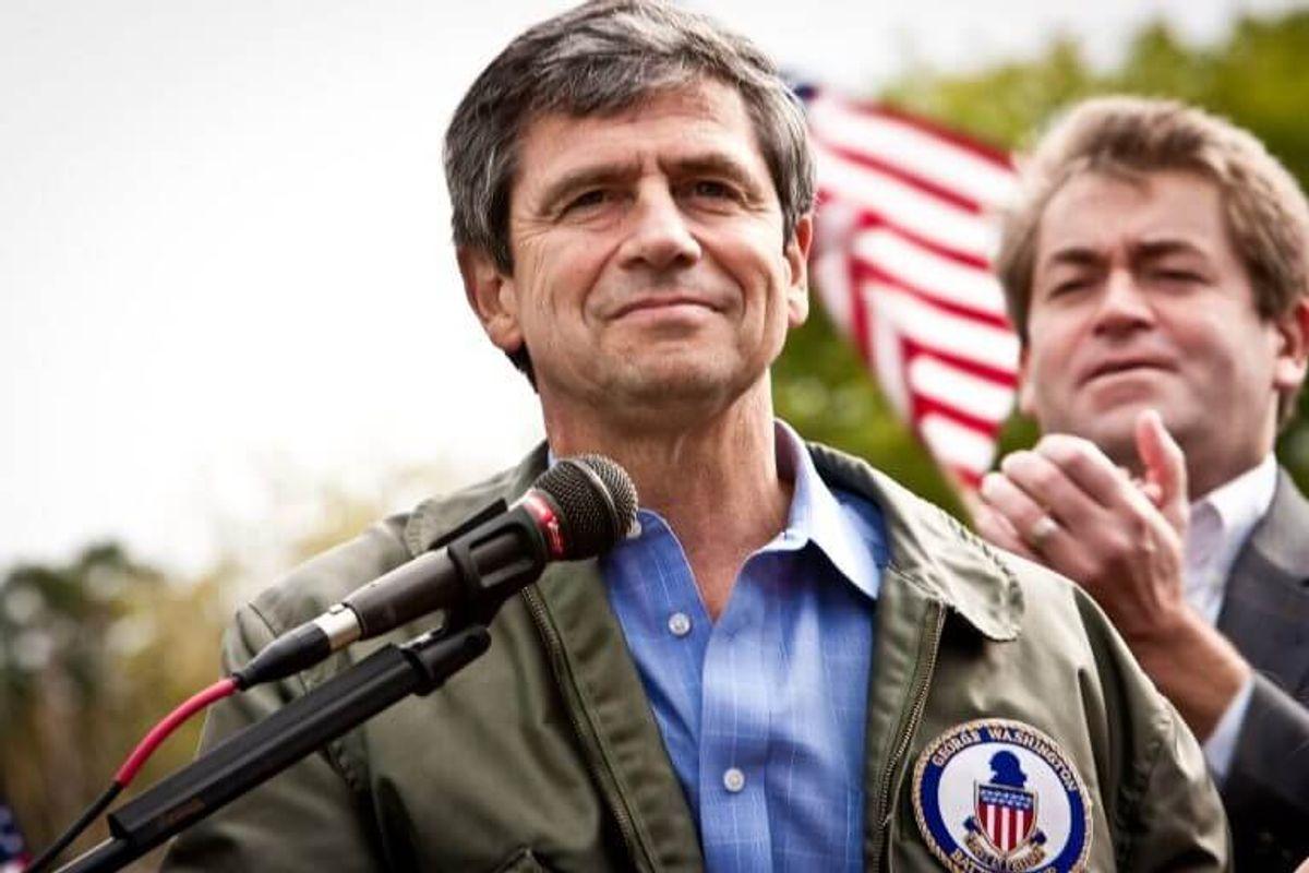 Retired US Admiral Joe Sestak Announces Democratic Run for White House