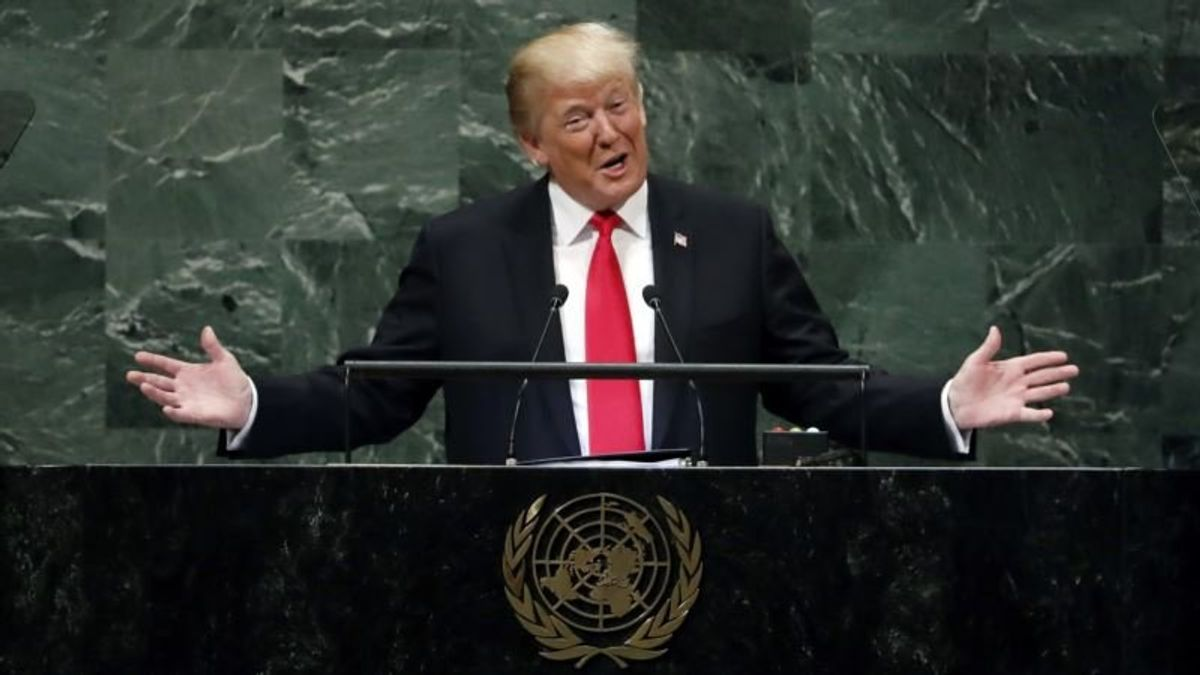 At UN This Year, It's Trump Versus the World