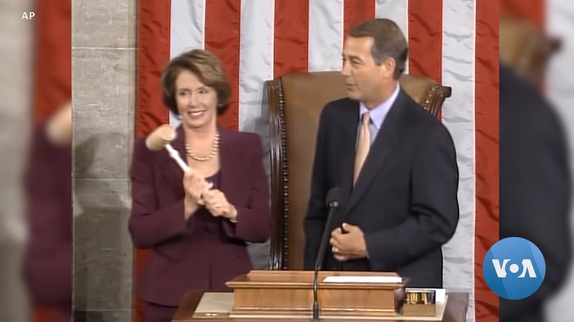 First Female Speaker of the House, Pelosi Knew Politics from Early Age