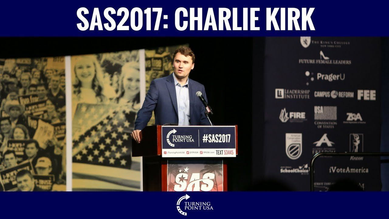 SAS2017: Charlie Kirk