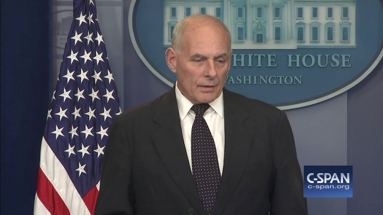 White House Chief of Staff on President Trump's Phone Call to Family of Fallen Soldier (C-SPAN)