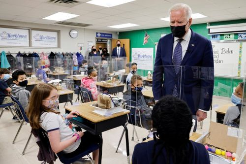 Biden Pushes Education Spending at Stops in Virginia