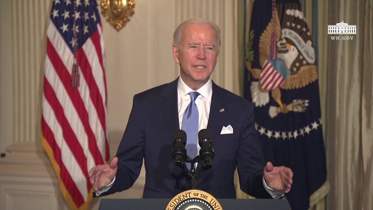 President Biden Swears In Day One Presidential Appointees in a Virtual Ceremony