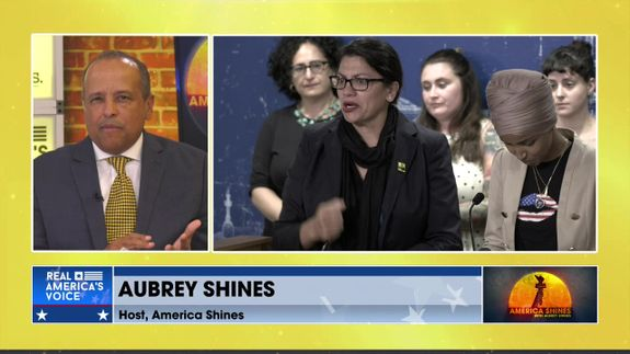 Face Of America, With Aubrey Shines - Ilhan Omar should NOT advise the president on Israel
