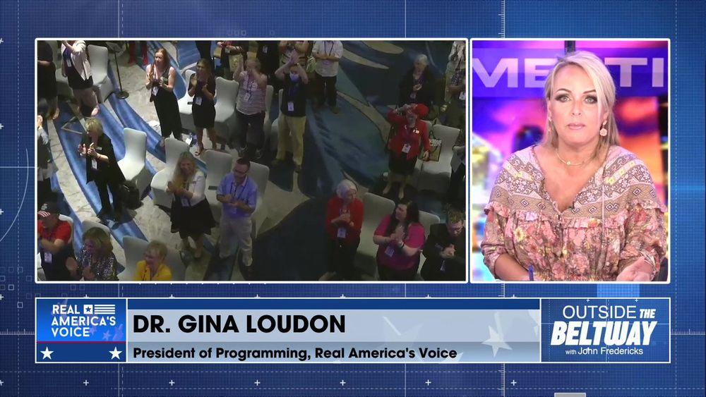 Dr. Gina Loudon Joins John Fredericks to Discuss President Trump