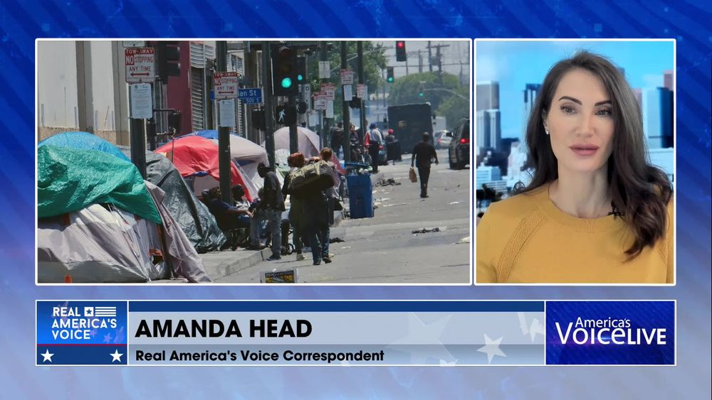 Real America's Voice Correspondent Amanda Head Joins the Show