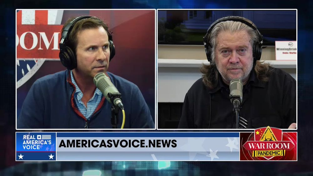 War Room Pandemic with Stephen K Bannon Episode 887 Part 3