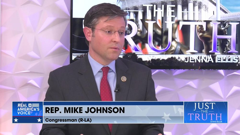Congressman Mike Johnson w/Jenna Ellis pt3