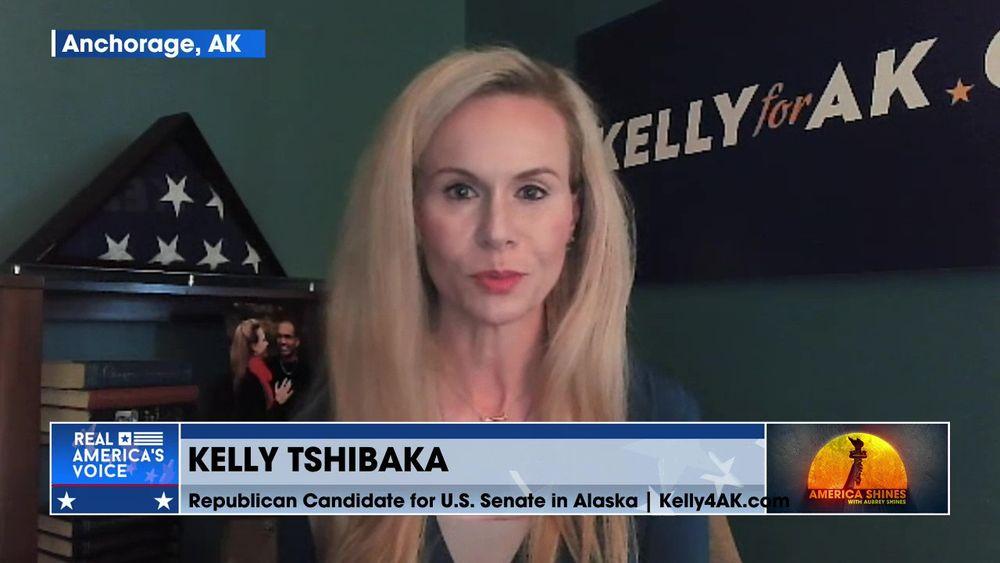 Aubrey is Joined by Republican Candidate for U.S. Senate in Alaska, Kelly Tshibaka Pt 1