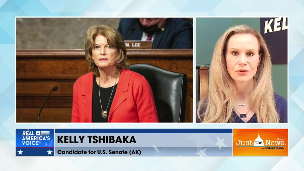 Kelly Tshibaka, Candidate AK Senate (R) - A Murkowski has been a Senator for 40 yrs time for change