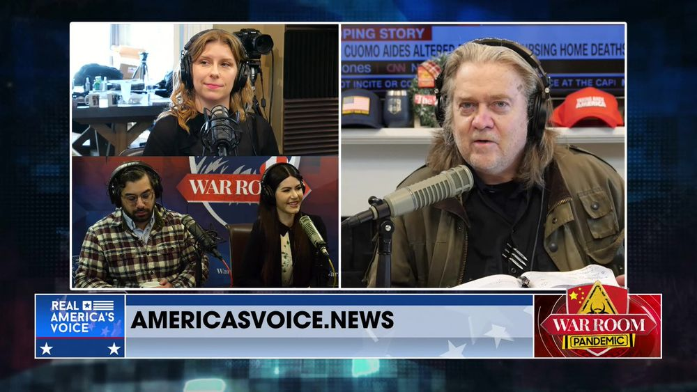 War Room Pandemic with Stephen K Bannon Episode 776 Part 1