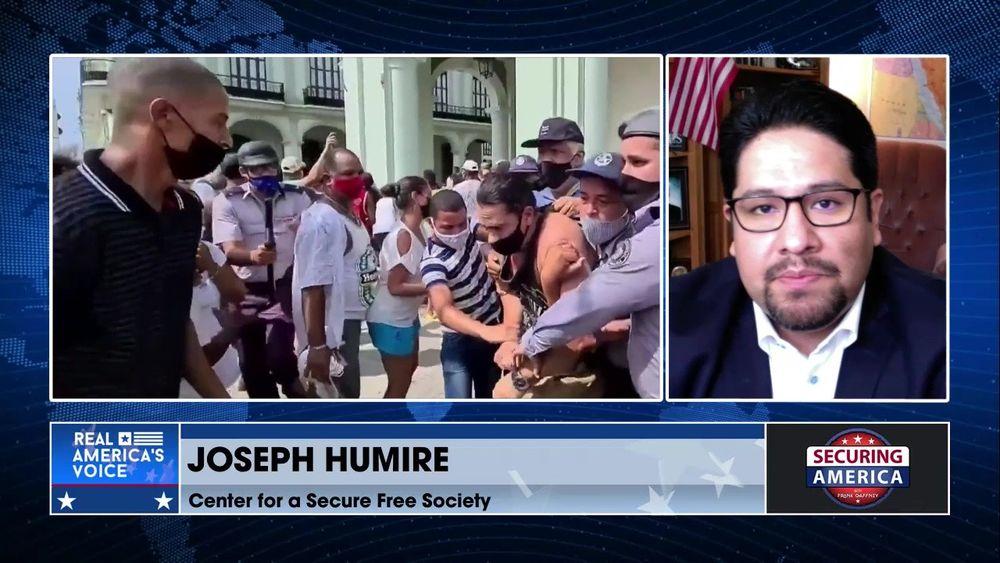 Joseph Humire talks about developing events Latin America