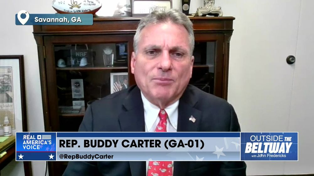 Rep. Buddy Carter Joins to Discuss Georgia and Biden's Proposed Tax Plan