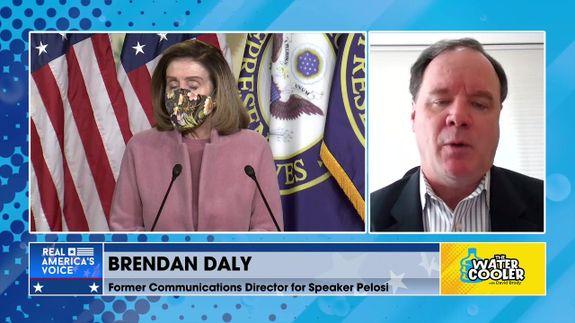 BRENDAN DALY ON NANCY PELOSI'S POLITICAL TIGHTROPE ON STIMULUS BILL