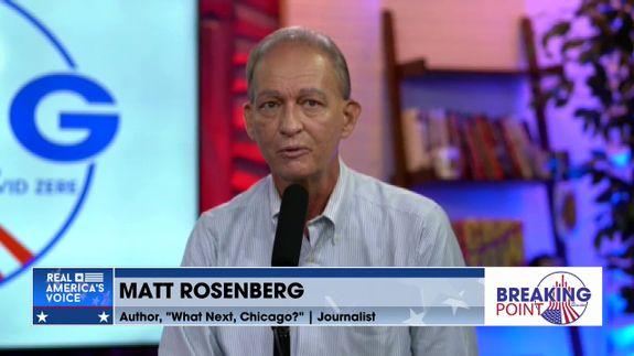 "David Zere Is Joined By Journalist & Author of ""What Next, Chicago?"", Matt Rosenberg Pt 1"