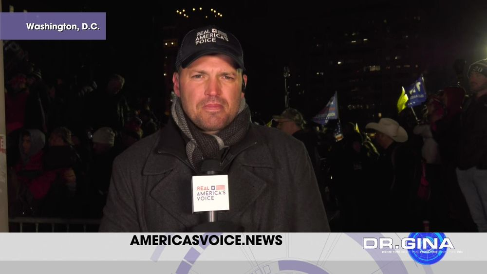 RAV Contributor Ben Bergquam Live at a MAGA Rally in D.C.
