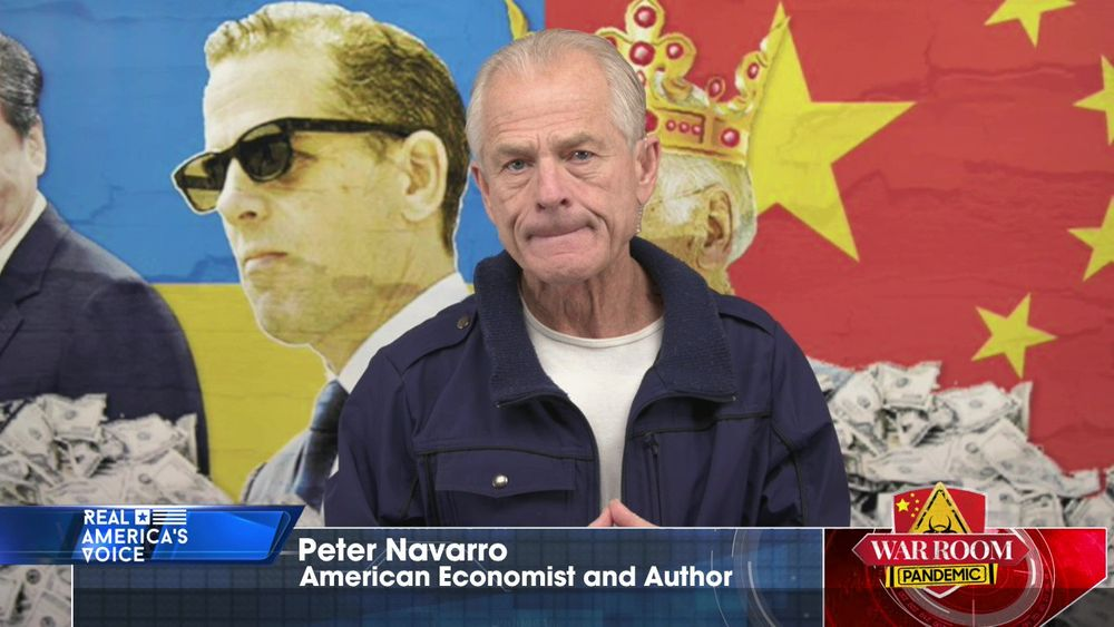 Dr. Peter Navarro Talks About the Influence China Is Pushing on the Biden Family