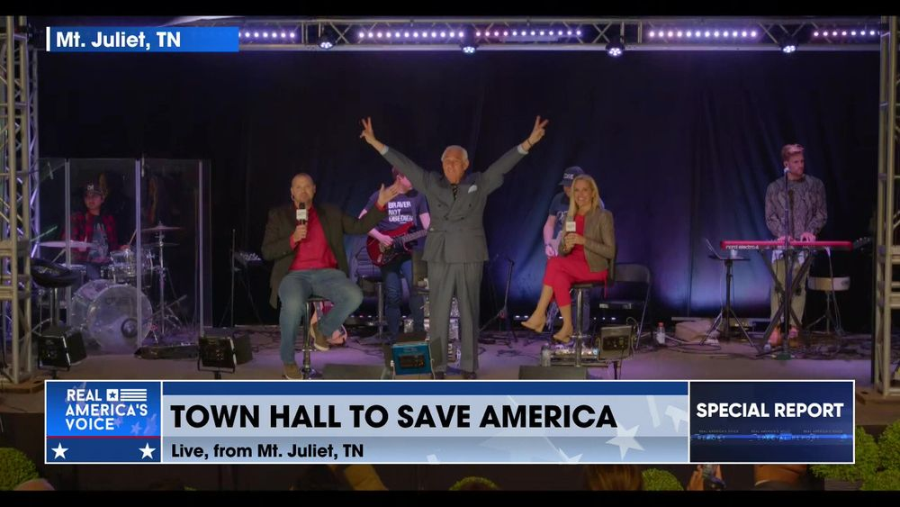 Live from the Save America Town Hall in Mt. Juliet, Tennessee Part 6