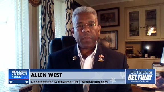 John Fredericks is Joined By Candidate for Texas Governor, Col. Allen West