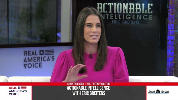 """Eric Greitens sits down with Host of """"Weekly Briefing"""", Christina Bobb"""