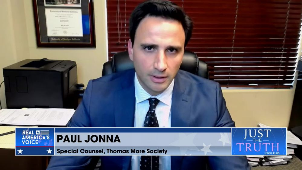 Jenna Ellis is Joined Special Counsels At The Thomas More Society, Paul Jonna & Charles Limandri Pt1