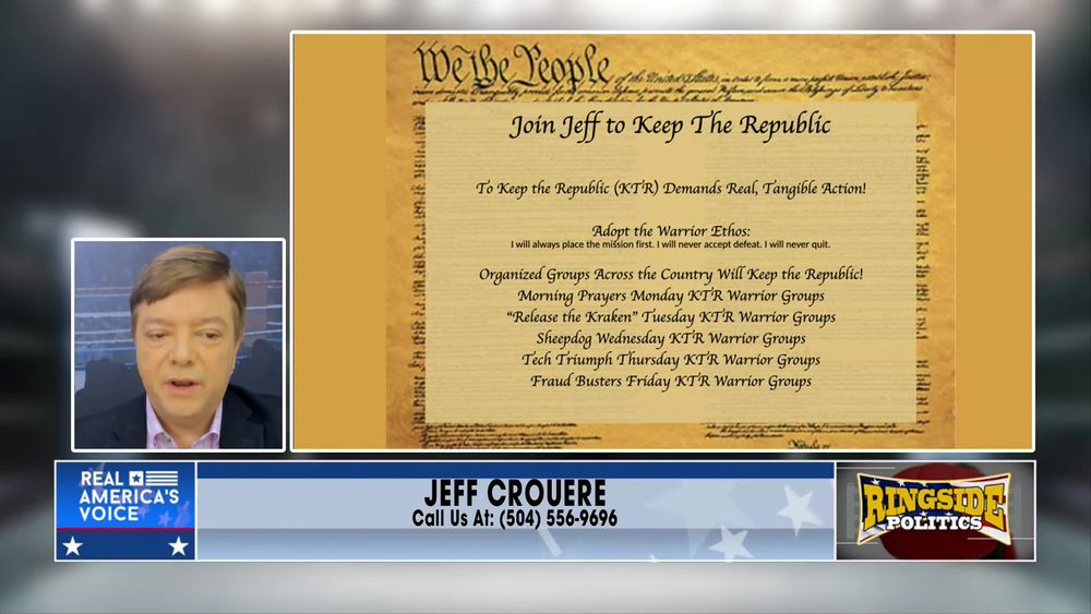 Jeff introduces The Keep The Republic Project May 5 2021