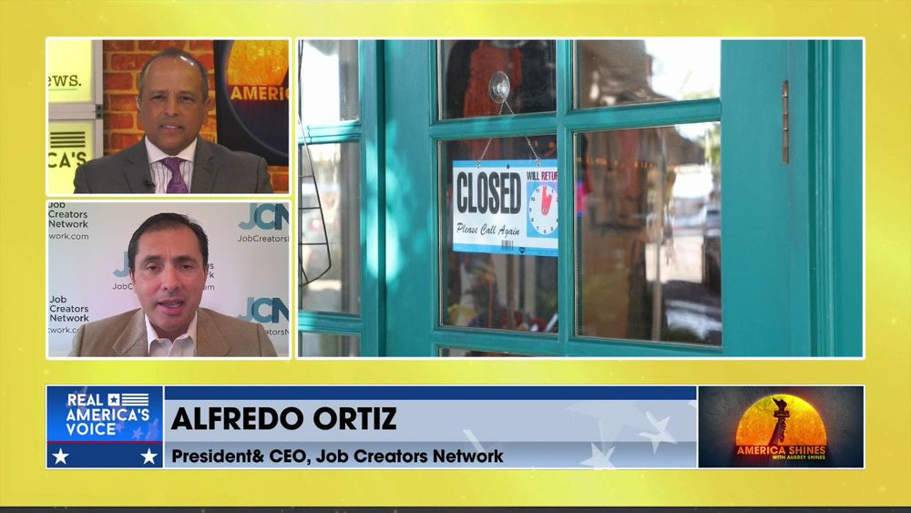 Aubrey Shines is Joined by President & CEO of the Job Creators Network, Alfredo Ortiz