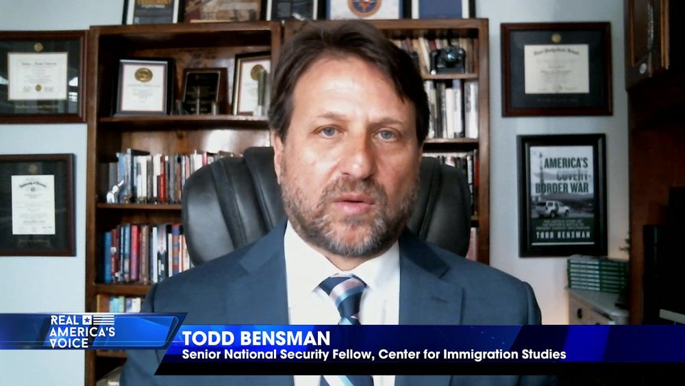 "Todd Bensman explains the ""Biden Effect"" on illegal immigration"