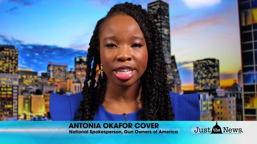 Antonia Okafor Cover, Spokesperson, Gun Owners of America - Biden shift of race equity over equality