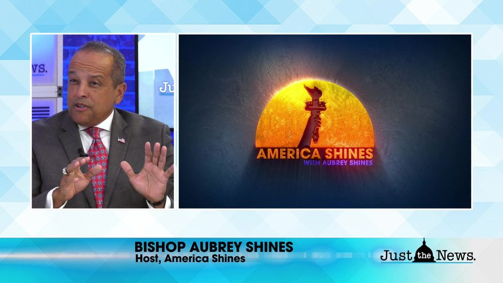 Bishop Aubrey Shines, Host America Shines - A new Real America's Voice Show