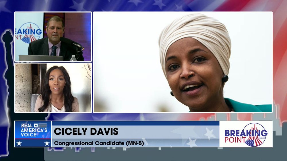 David Zere Is Joined By Congressional Candidate (MN-5) Cicely Davis