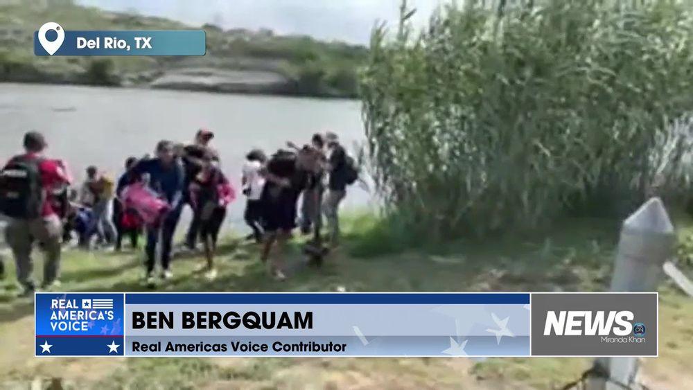 Ben Bergquam at the Border