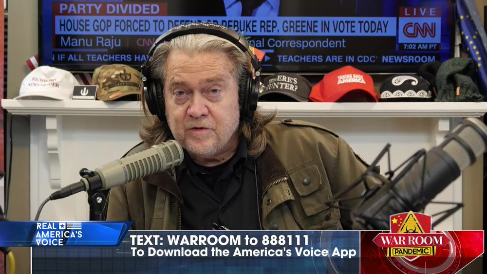 War Room Pandemic with Stephen K Bannon Episode 704 Part 1