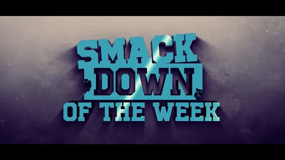 Smack Down Of The Week Barrack Obama