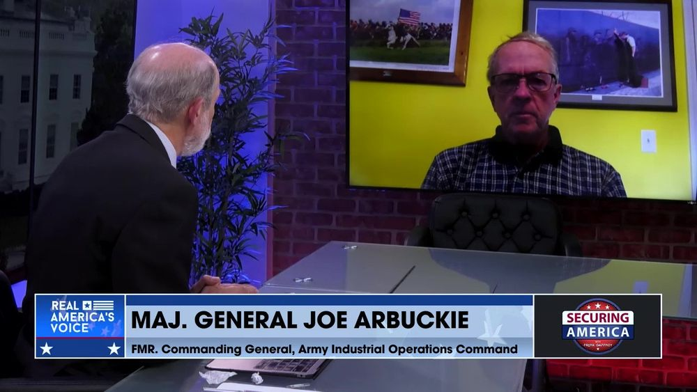 Major General Joe Arbuckle talks about how the Biden administration is degrading the U.S. military