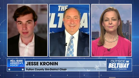 John Fredericks Is Joined By Fulton County GA-District Chair, Jesse Kronin, And Jenny Beth Martin