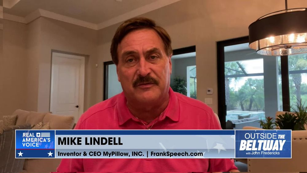 John Fredericks is Joined By CEO of MyPillow, Mike Lindell