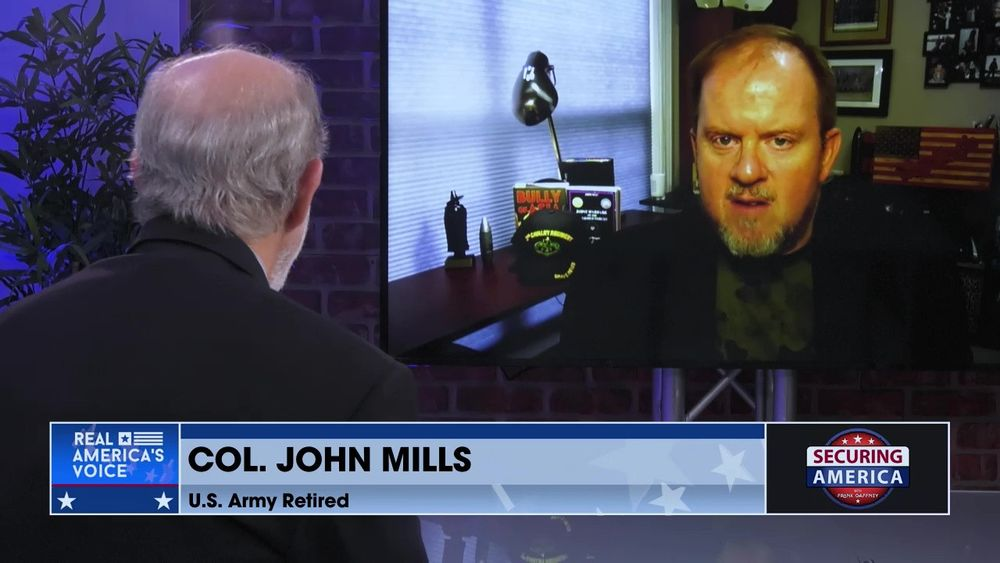 Frank Gaffney Talks With Col. John Mills About the Situation in Asia
