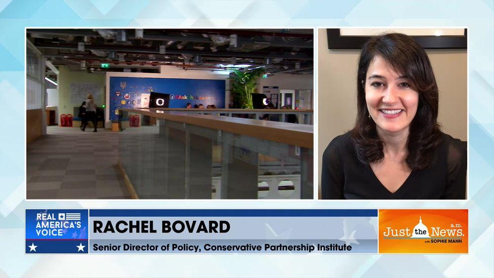 Rachel Bovard, Sr. Policy Dir. CPI - Facebook Oversight Board upholds Facebook Trump ban, for now
