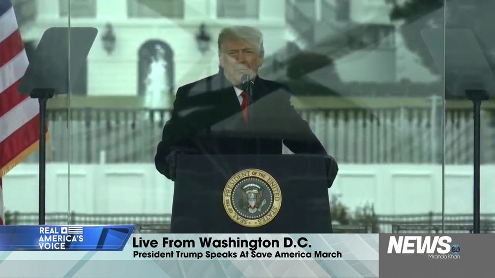 Live From Washington, D.C. President Trump Speaks At Save America March