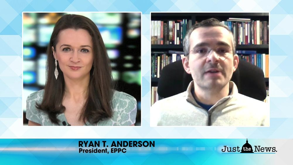 Ryan T. Anderson, President EPPC - Conservatives lose winning arguments hiding behind religion